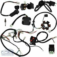 GY6 125 150cc ATV Quad Scooter Buggy Electric Wiring Harness Kit Magneto Stator