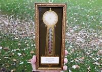 West Allis Wisconsin ARTHUR KRUEGER Handcrafted Clocks Advertising Thermometer