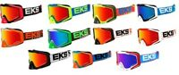 EKS Adult MX ATV GOX Goggles With Mirror Lens All Colors