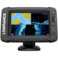 Lowrance Elite-7 Ti(2) Combo w/Active Imaging 3-in-1 Transom Mount Transducer...