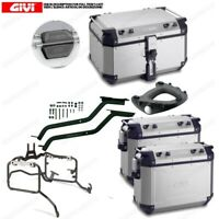 SET GIVI BAULETTO OBKN58A AND CASES OBKN37A YAMAHA 850 MT09 TRACER R29F 2015-201