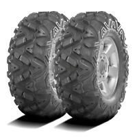 2 GBC Dirt Tamer 27x11-12 27x11.00-12 6 Ply A/T All Terrain ATV UTV Tires