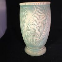 McCoy Pottery 1940s Green Vase