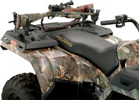Moose Black FlexGrip UTV ATV Side by Side Double Gun & Bow Rack for Polaris