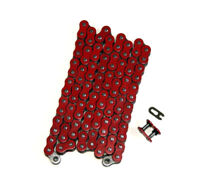 Red 520x90 O-Ring Drive Chain ATV Motorcycle MX 520 Pitch 90 Links