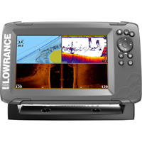 LOWRANCE 000-14293-001 HOOK2-7 Combo, Inland Maps, SideScan