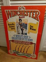 VINTAGE WINCHESTER ADVERTISING  TIN SIGN