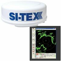 Si-Tex Radar Sensor Package Includes 2kW/24nm Radome Antenna, 33' Cable: MDS-8R
