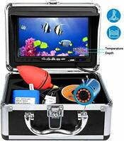 Portable Underwater Fishing Camera,HXEY with Water Depth and Temperature