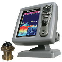 SI-TEX CVS-1266020 CVS-126 Dual Frequency Color Echo Sounder with B60 20