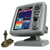 SI-TEX CVS-1266TH CVS-126 Dual Frequency Color Echo Sounder with 600kW Thru-Hull