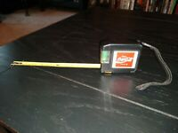 Rare Vtg Enjoy Coca Cola Tape Measure & level employee item not sold in stores