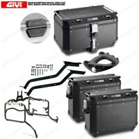 Set Givi Bauletto OBKN58B & Suitcases OBKN37B BMW R 1200 GS (13  16)