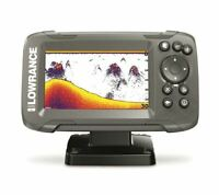 Lowrance HOOK2-4x Fish Finder with Bullet Transducer and GPS Plotter One-Touch