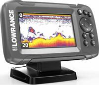 Lowrance Hook2-4x GPS Fishfinder, Extra Wide Sonar, All Season Pack- 00014179001