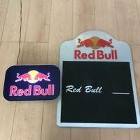 Red Bull Wall Mounted Store Display Interior Rare from Japan Free Shipping