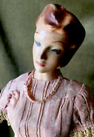 Vintage Counter Top Mannequin Clothing Store Display Advertising Statue