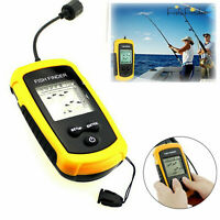 New Portable LCD Fish Finder 100M Depth Sonar Alarm Sensor Fishfinder Waterproof