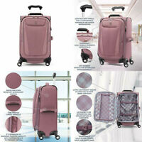 Travelpro Maxlite 5-Softside Expandable Spinner Carry-On 21-Inch Dusty Rose