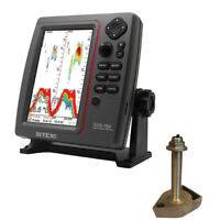 SI-TEX SVS-760TH SVS-760 Dual Frequency Sounder 600W Kit with Bronze Thru-Hull