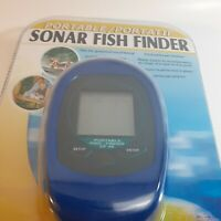 Rare Sonar Fish Finder Portable Portatif Koolatron FF01C New Sealed