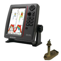 SI-TEX SVS-760TH1 SVS-760 Dual Frequency Sounder 600W Kit with Bronze Thru-Hull