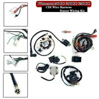 CDI Electric Wiring Harness Loom Kit 150/200/250CC ATV Stator Quad Scooter Buggy