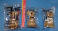 Vintage Trio Taco Bell Talking Chihuahua Dog Toys IOB 2000 New Years Love