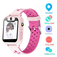 Kids Anti lost Smart Watch GPS Tracker SOS Call Waterproof Wrist For Android IOS $21.19