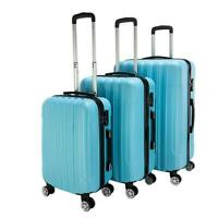 3 Piece Luggage Set Hardside ABS Carry On Bag Travel Trolley Suitcase Spinner