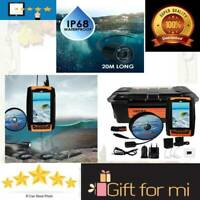 ORIGINAL LUCKY Underwater Camera Fish Locator Finder 120° Wide Angle 20M Cable L