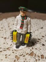 1992 Coca cola Village Miniature of Boy carrying Two Cases Of Coke 3.25quot; cola