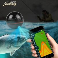 Wireless Portable Fish Finder Sonar 160 Ft Detector Fishing Alarm IOS amp; Android