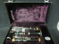 Vintage 1973 Buffet Crampon Wooden Clarinet With Case Made In France