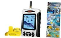Lucky Wireless Fish Finder Sonar Sensor Portable Sonar Fishfinder LCD Display De