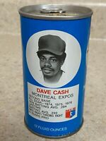 1977 Royal Crown Cola RC Can Dave Cash Montreal Expos