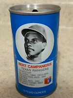 1977 Royal Crown Cola RC Can Bert Campaneris Texas Rangers