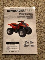 OEM 2005 CAN AM YOUTH ATV OWNERS MANUAL DS 50 DS 90