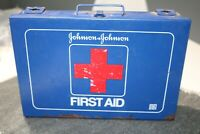 Vintage Johnson amp; Johnson First Aid Kit number 8161 Wall Mount