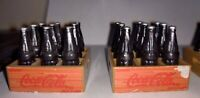 coca cola miniature Crates With Bottles