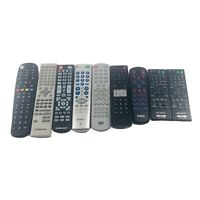 9 Remote Control Wholesale Lot Sony RCA Vizio Element Emerson Blackweb DVD TV $19.98