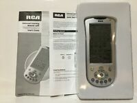 New RCA Universal Programmable Learning Remote Touchscreen Digital RCU1010 $29.99