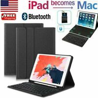 Smart Case With Bluetooth Keyboard Cover For iPad 5th 6th Gen 2018 9.7quot; Air 2 $14.90