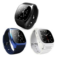 Mate Wrist Waterproof Bluetooth Smart Watch For Android HTC Samsung iPhone iOS $13.99