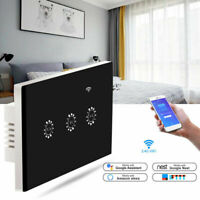 WiFi Smart Touch Panel Curtain Shutter Blind Switch Remote for Alexa Google Home $23.99