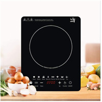EULANGDE Touch Controls for Induction Cooker 110V Electric Stove 2200W Portable $59.12