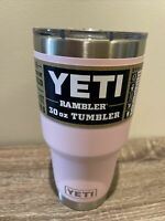 YETI Rambler 30 oz. Insulated Tumbler Ice Pink with Magslider Lid NEW