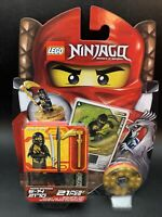 Lego Ninjago Cole DX Spinner Set 2170 Weapons Cards Retired Factory sealed new