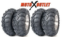 Kawasaki Prairie 360 Tires Atv ITP Mudlite Set of 4 Front 25-8-12 Rear 25-10-12