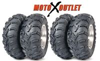 Yamaha Big Bear 400 Tires Set of 4 Atv ITP Mudlite 25x8x12 Front 25x10x12 2 Rear